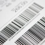 Barcode etikett