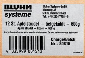Markering van kartonnen dozen met etiketten