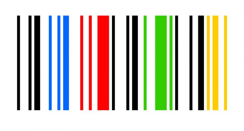 barcode kleuren