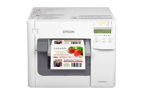 Epson kleuren label printer