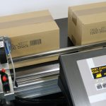 Markoprint inkjet printer voor het markeren van dozen