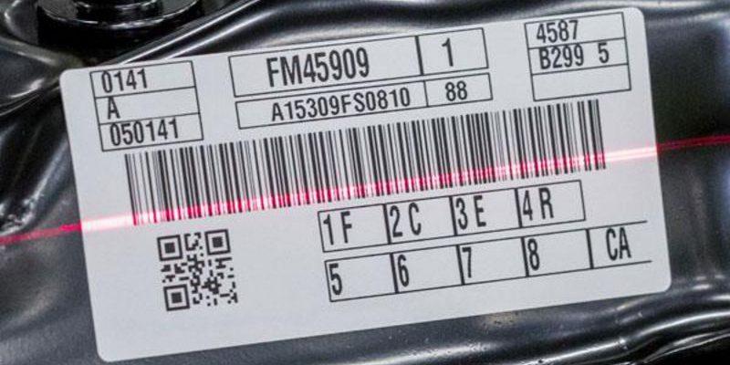 barcode etikett scan