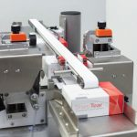 Weber Tamper Evident seal-etiketteermachine labeldispenser