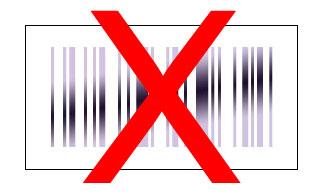 Barcode metallic