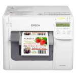 Epson color label printer