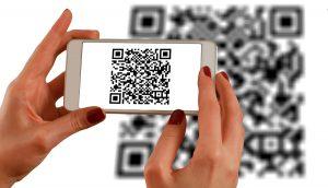 een qr-code scannen met een smartphone