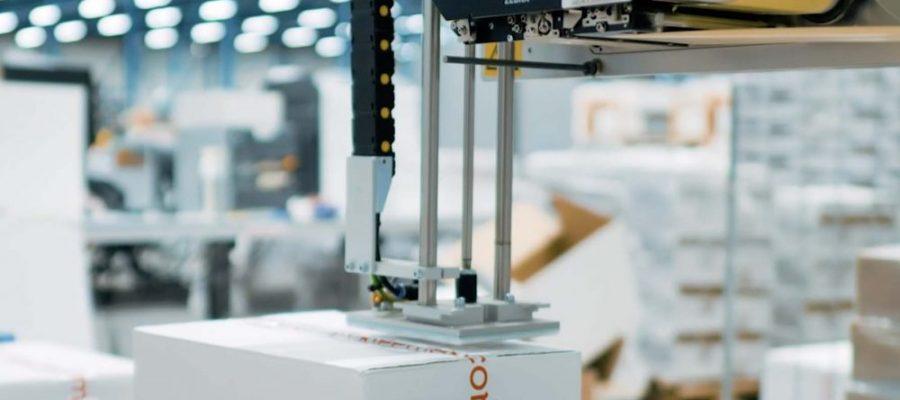 Automatisch Etiketteren - Weber Marking Systems