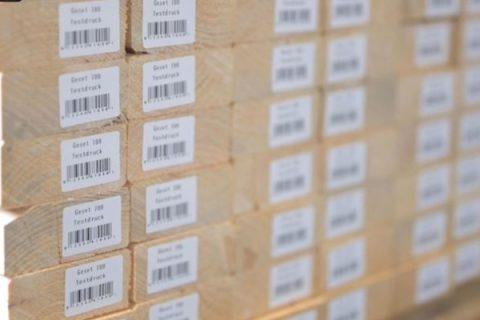 hout etiketteren
